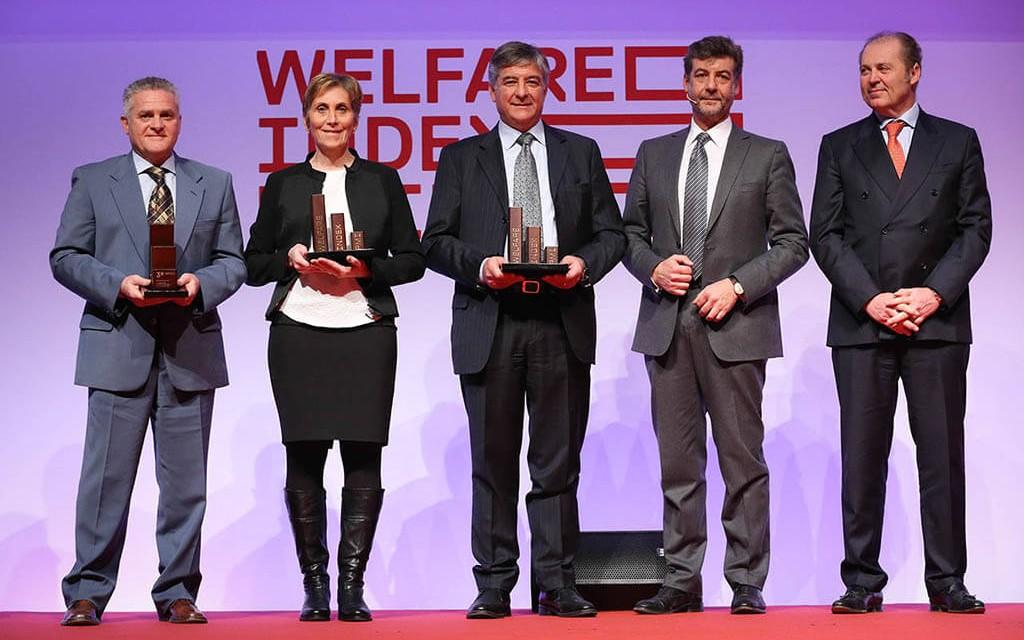 Salvi Vivai premiata per il Welfar Index PMI